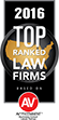 top ranked law firm logo